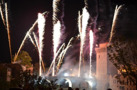 Incendio della Torre Medioevale